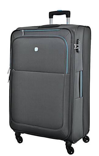 Obrázok z Cestovní kufr Dielle L  720-70-13 šedá 119 L