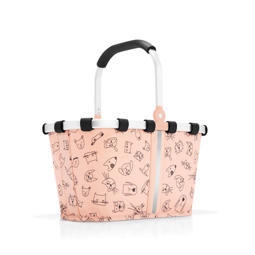 Obrázok z Reisenthel Carrybag XS Kids Cats and dogs rose 5 l