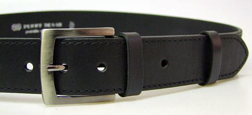 Obrázok z PENNY BELTS 25-1-60 Pánsky kožený opasok čierny
