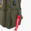 Obrázok z Batoh Aeronautica Militare Frecce L AM-345-33 khaki 25 L