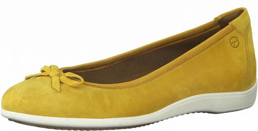 Obrázok z Tamaris 1-22100-26 609 Dámske balerínky žlté