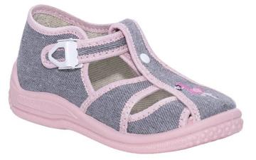 Obrázok z BIGHORN DITA 5004 B Detská domáca obuv