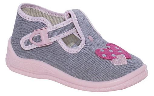 Obrázok z BIGHORN BERTA 5002 B Detská domáca obuv