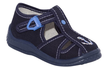 Obrázok z BIGHORN ADAM 5010 B Detská domáca obuv