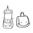 Obrázok z Reisenthel Toiletbag S Kids Cats and dogs rose 1,5 l