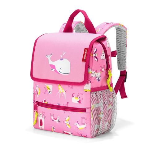 Obrázok z Reisenthel Backpack Kids Abc friends pink 5 l