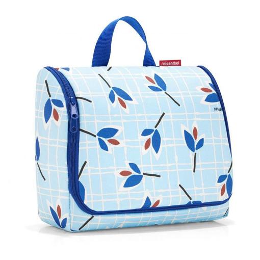 Obrázok z Reisenthel Toiletbag XL Leaves Blue 4 l