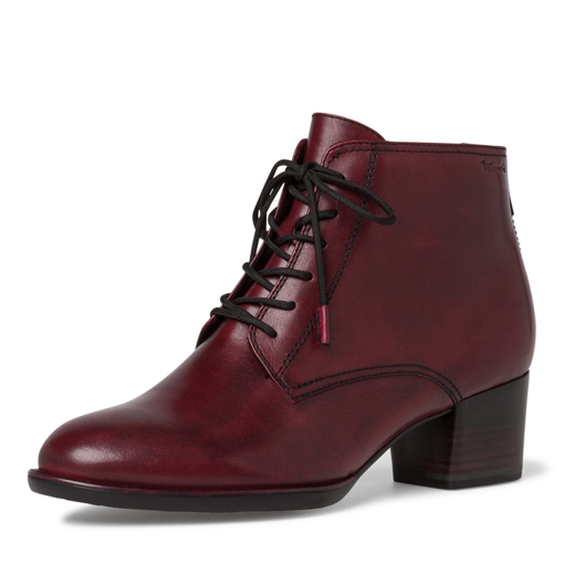 Obrázok z Tamaris 1-25112-25 Dámska členková obuv bordeaux