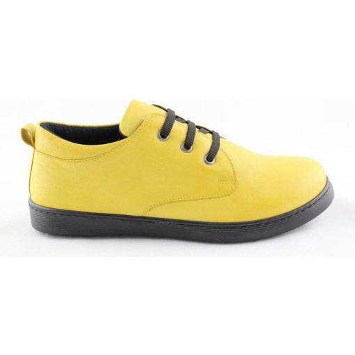 Obrázok z Looke Amia Dámske poltopánky žlté