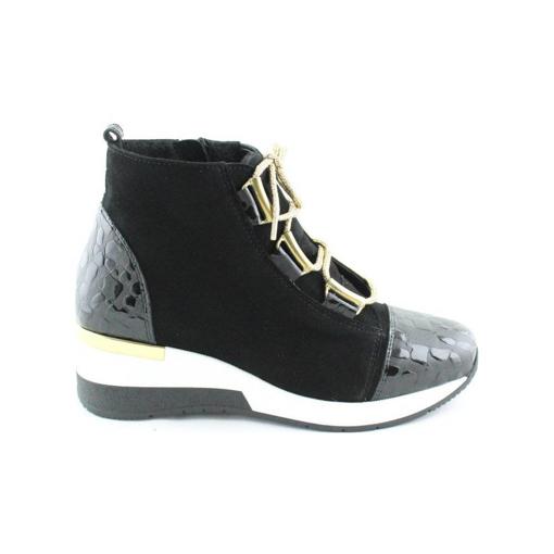 Obrázok z BARTON 21250A Dámska členková obuv čierna