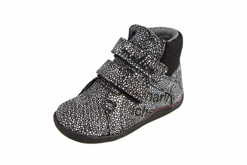 Obrázok z Medico EX4867-M135 Detské členkové topánky čierne