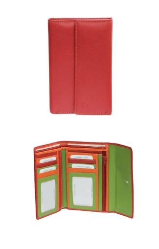 Obrázok z Peněženka Carraro Multicolour 837-MU-02 červená