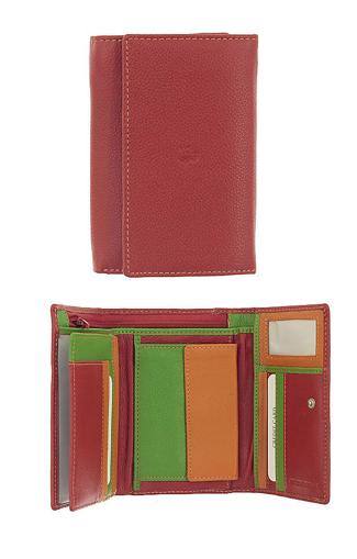 Obrázok z Peněženka Carraro Multicolour 838-MU-02 červená