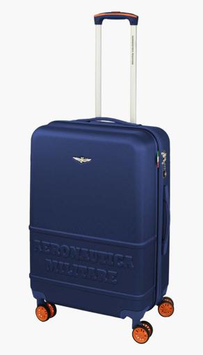 Obrázok z Cestovní kufr Aeronautica Militare Force M AM-220-60-05 modrá 63 L