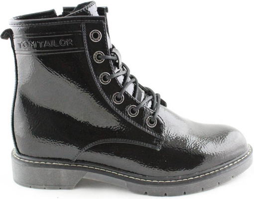 Obrázok z Tom Tailor 9092801 Dámska členková obuv čierna