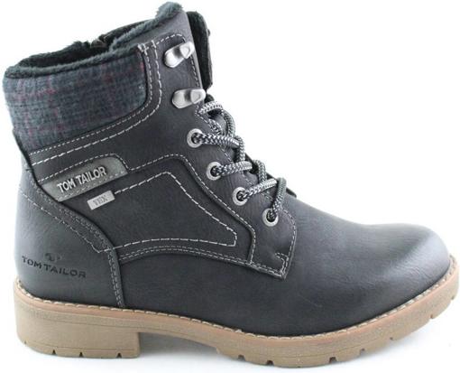 Obrázok z Tom Tailor 9092004 Dámska členková obuv čierna