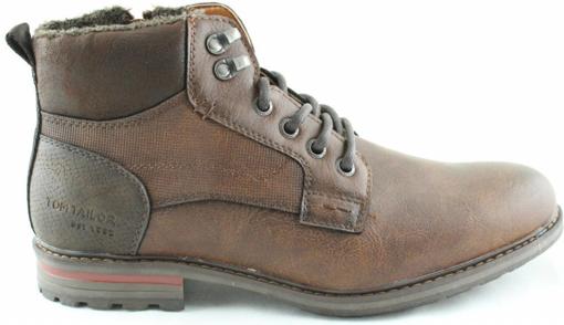 Obrázok z Tom Tailor 9082103 Pánska členková obuv hnedá