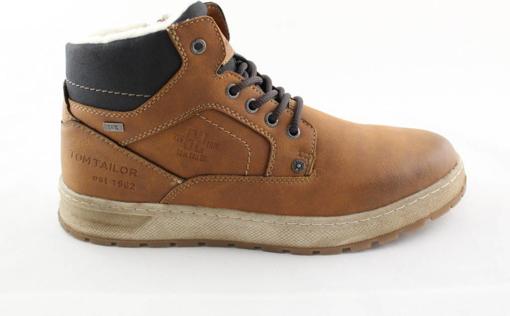 Obrázok z Tom Tailor 9081602 Pánska členková obuv hnedá