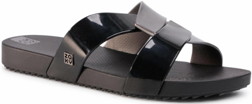 Obrázok z Zaxy Reflex Slide 17830-90058 Dámske šľapky čierne
