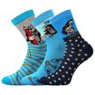 Obrázok z BOMA ponožky Krtek mix 2 / kluk 3 pár