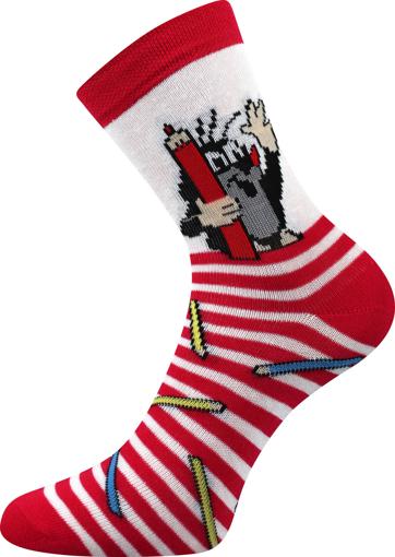 Obrázok z BOMA ponožky Krtek mix 1 / holka-pastelka 1 pár
