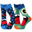 Obrázok z BOMA ponožky Ksichtík mix A - kluk 2 pár
