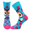 Obrázok z BOMA ponožky Ksichtík mix B - holka 2 pár