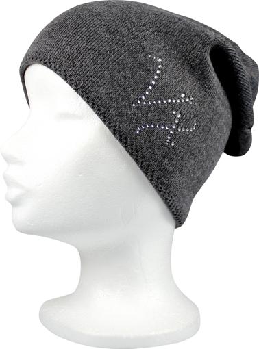 Obrázok z VOXX čepice Sondero tmavě šedá 1 ks