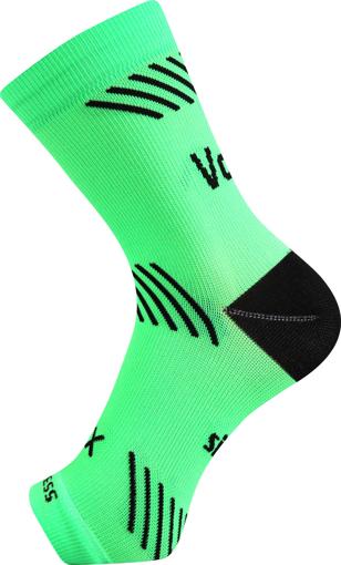 Obrázok z VOXX kompresní návlek Protect kotník neon zelená 1 ks