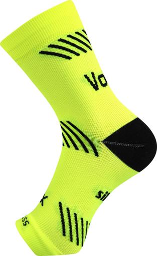 Obrázok z VOXX kompresní návlek Protect kotník neon žlutá 1 ks