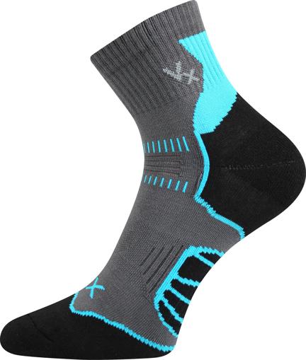 Obrázok z VOXX ponožky Falco cyklo tmavě šedá 1 pár
