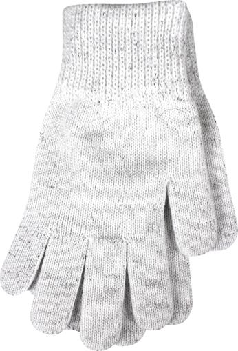 Obrázok z VOXX rukavice Vivaro bílá/stříbná 1 pár