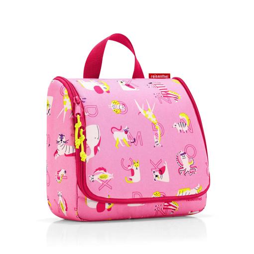 Obrázok z Reisenthel Toiletbag Kids Abc friends pink