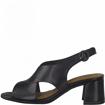 Obrázok z Tamaris 1-28357-26 903 Dámske sandále na podpätku čierne