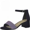 Obrázok z Tamaris 1-28201-26 890 Dámske sandále na podpätku modré