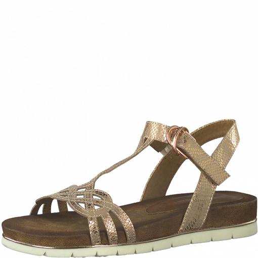 Obrázok z Tamaris 1-28209-26 352 Dámske sandále zlaté