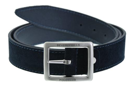Obrázok z Opasek pánský BHPC BH-6435-05 modrá