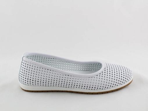 Obrázok z Looke CARROLIN L0601-03 Dámske balerínky biele