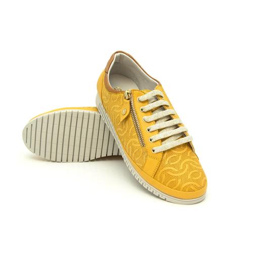 Obrázok z Batz ORLANDO Mustard Dámska kožená obuv