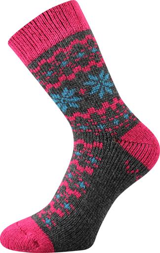 Obrázok z VOXX ponožky Trondelag tmavě šedá melé 1 pár