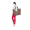 Obrázok z Reisenthel Shopper XL Glencheck Red 35 L