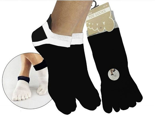 Obrázok z BOMA ponožky Prstan-a 01 černá 1 pár