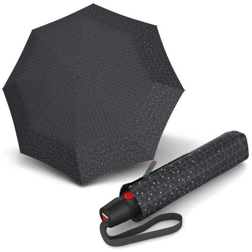 Obrázok z Knirps T.200 Medium Duomatic Biru Rock Dámsky plne automatický dáždnik