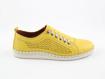 Obrázok z Wild 646019A.01 Yellow Dámska celokožená obuv