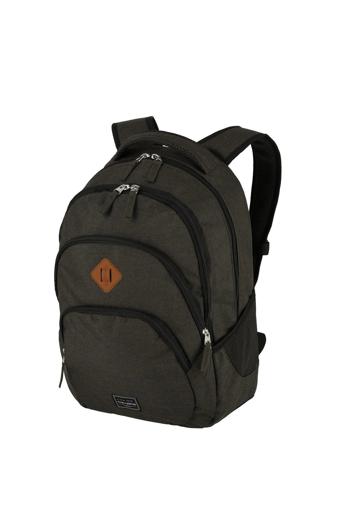 Obrázok z Travelite Basics Backpack Melange Brown 22 L