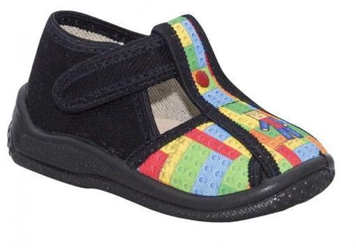 Obrázok z BIGHORN KUBA 5021 A  Detská domáca obuv