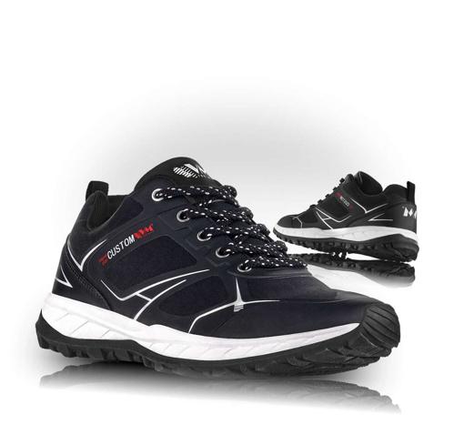 Obrázok z VM Footwear Melbourne 4805-60 Outdoorové softshellové topánky čierne