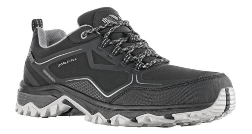 Obrázok z VM Footwear Brisbane 4215-60 Outdoorové softshellové topánky čierne