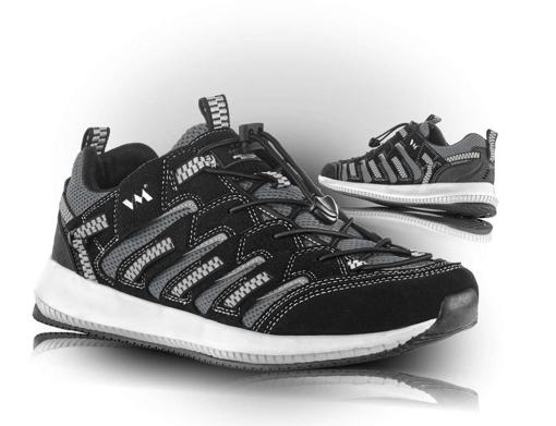 Obrázok z VM Footwear Lusaka 4445-60 Poltopánky čierne