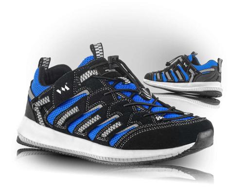 Obrázok z VM Footwear Lusaka 4445-11 Poltopánky modré